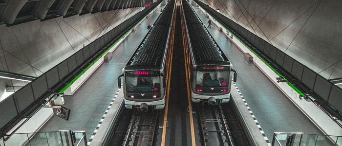 Dopravní prostředky soupravy metra