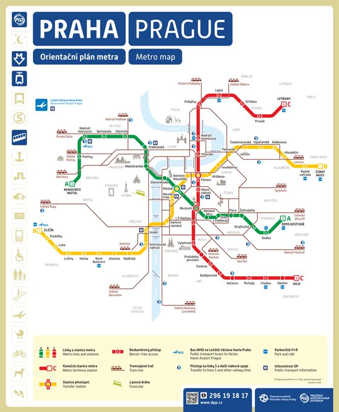 metro mapa