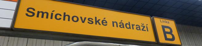 Jízdní řád - pražské metro