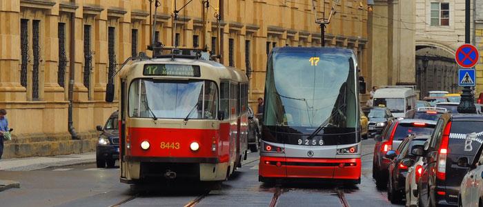Tramvajové soupravy